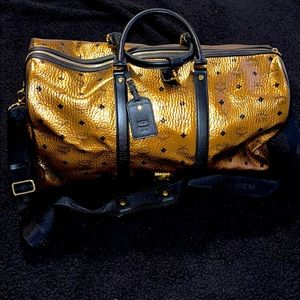 Authentic MCM DUFFEL BAG- Perfect for traveling